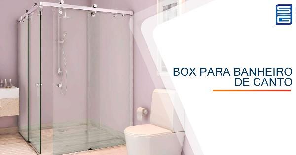 Box para Banheiro de Canto Votorantim